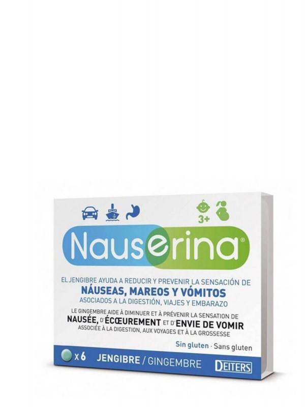 Deiters nauserina 6 comprimidos