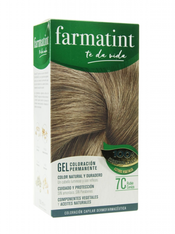 Farmatint 7c rubio ceniza 135 ml