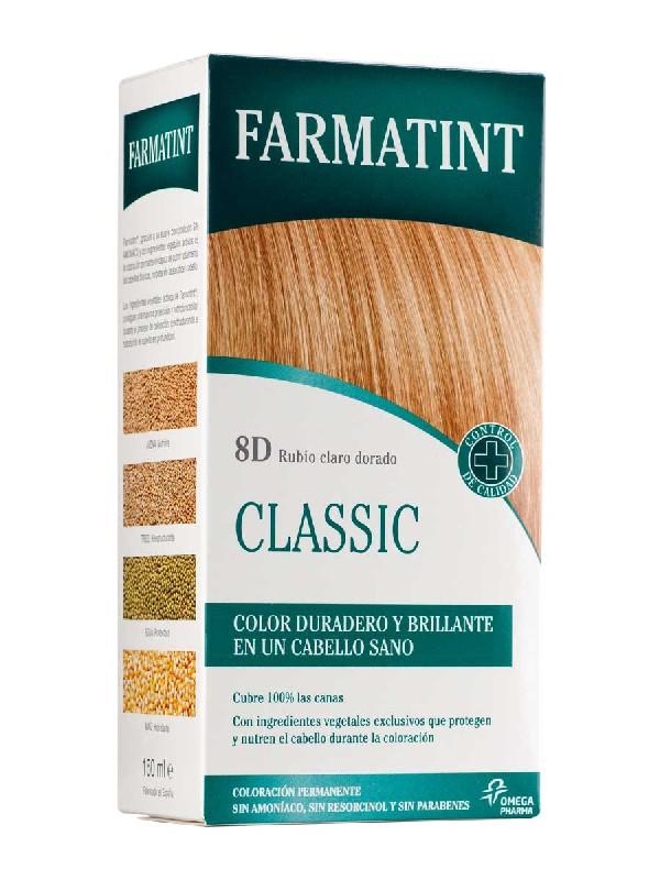 Farmatint 8d rubio claro dorado 135 ml