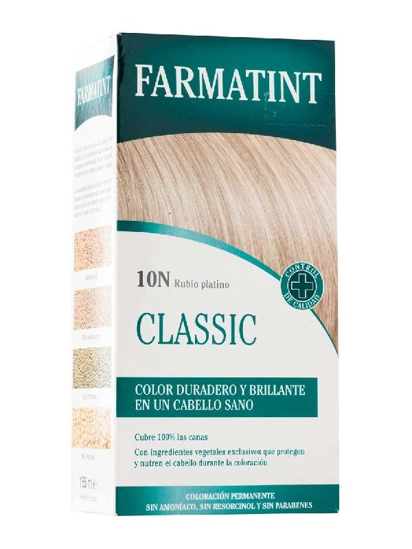 Farmatint 10 n rubio platino 135 ml