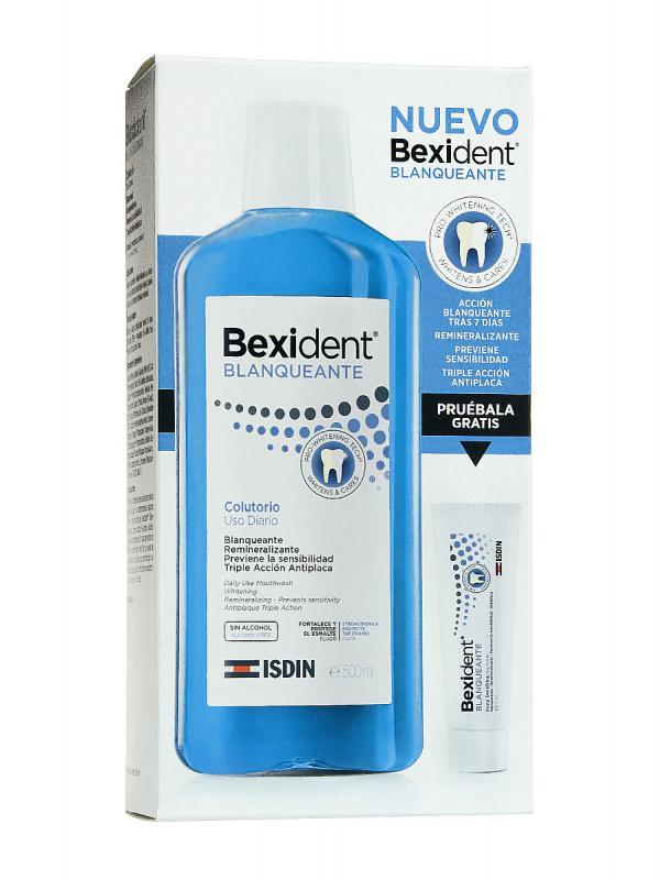 Bexident colutorio blanqueante 500ml.