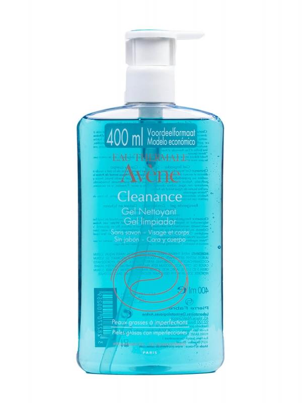 Avène cleanance gel limpiador 400ml