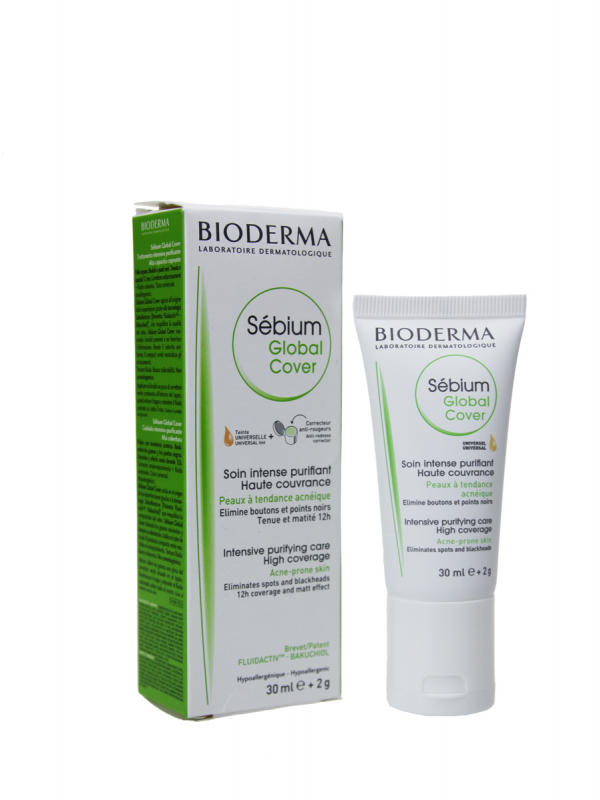 Sebium global cover  bioderma 30ml