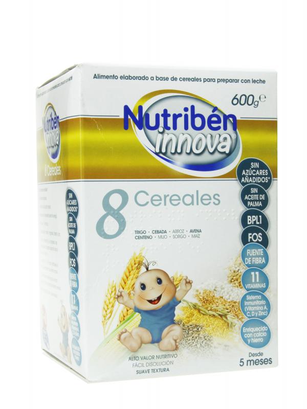 Nutribén innova 8 cereales 600 gr