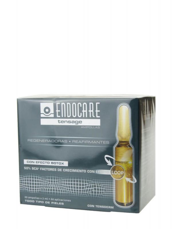 Endocare tensage 20 ampollas de 2 ml