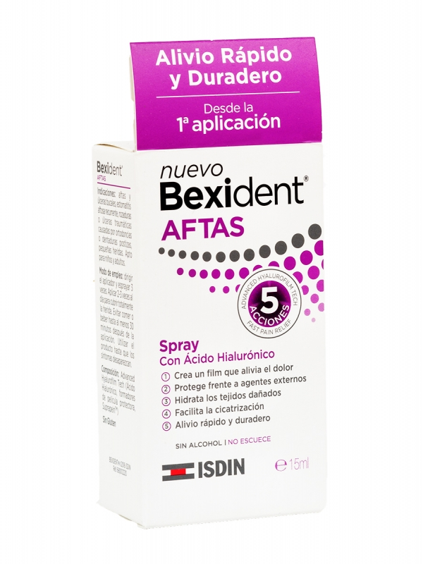 Bexident aftas spray 15ml