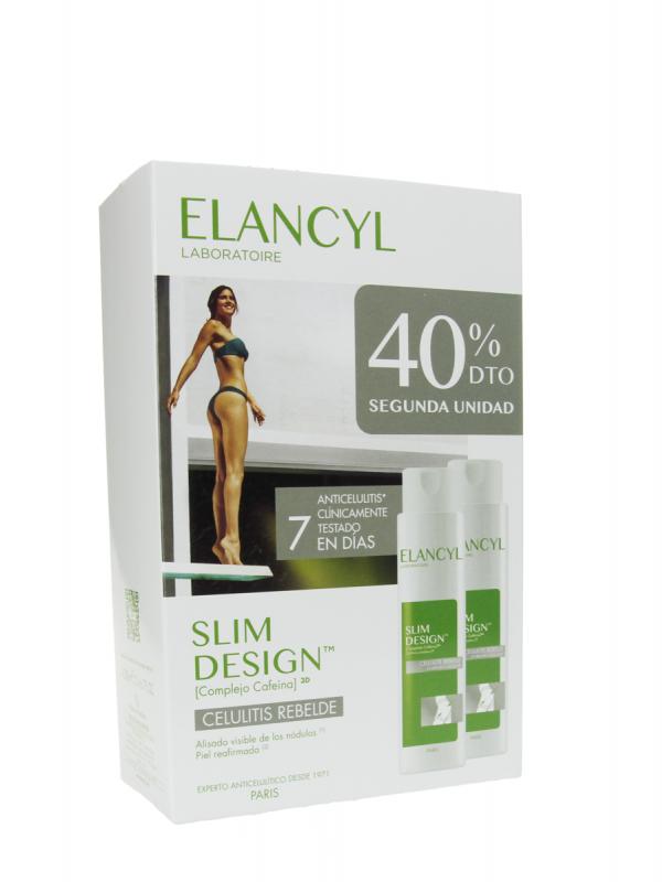 Elancyl slim design celulitis rebelde 2x200 ml