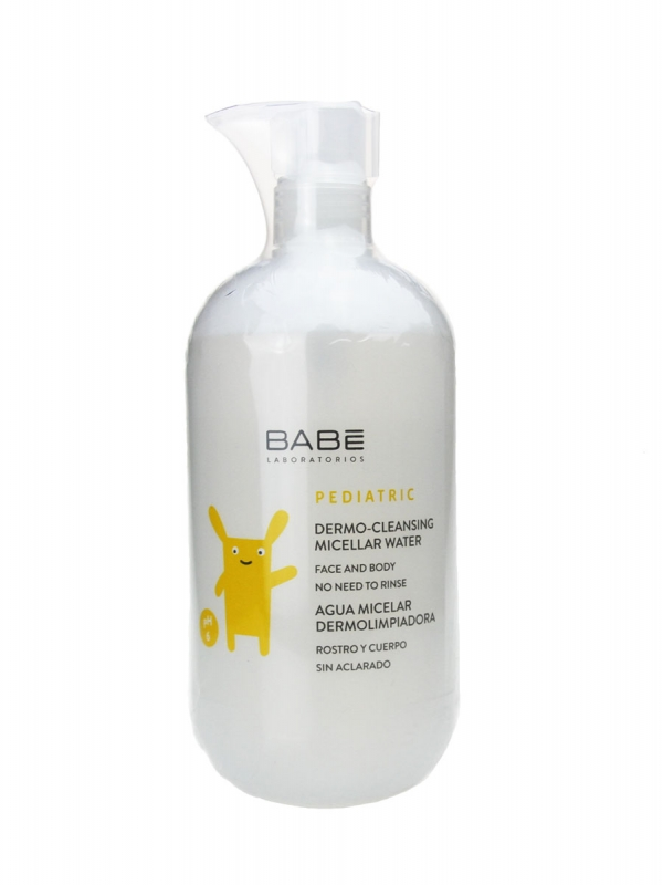 Babe agua micelar dermolimpiadora 500 ml