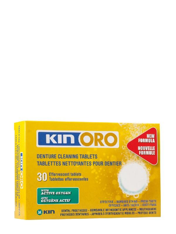 Kin oro 30 tabletas limpiadoras