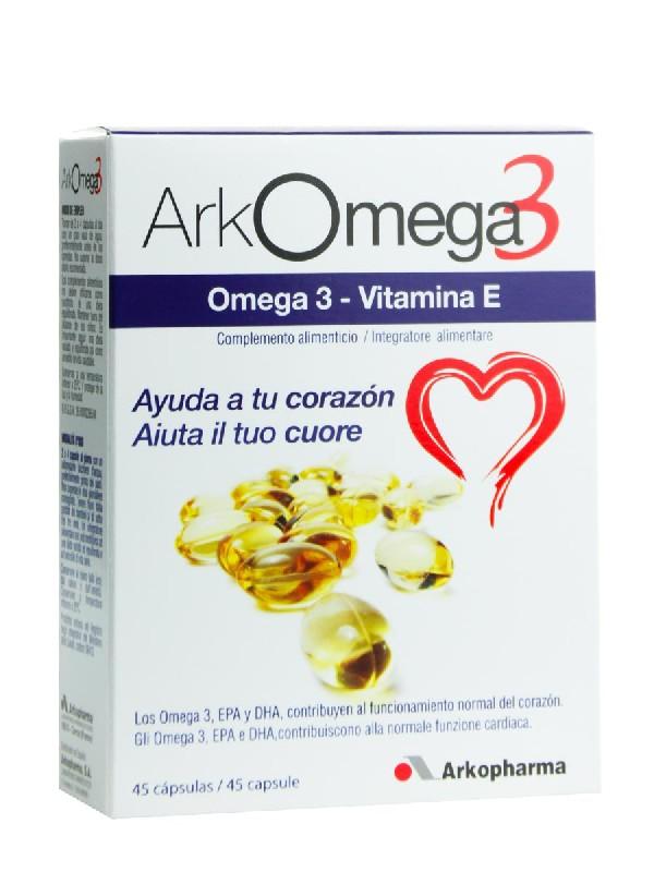 Arkopharma arkomega 3 45 capsulas
