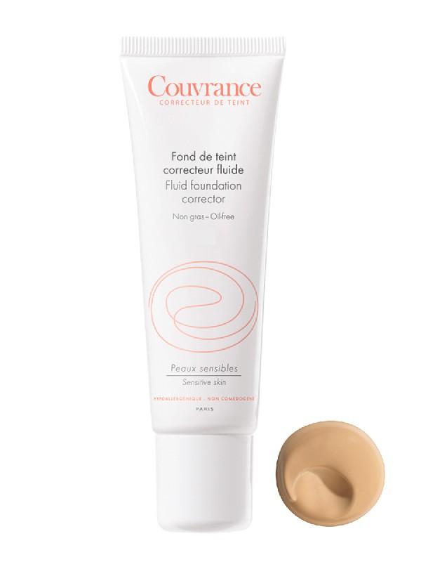 Avène couvrance, maquillaje fluido nº 2. tono natural, 30ml.