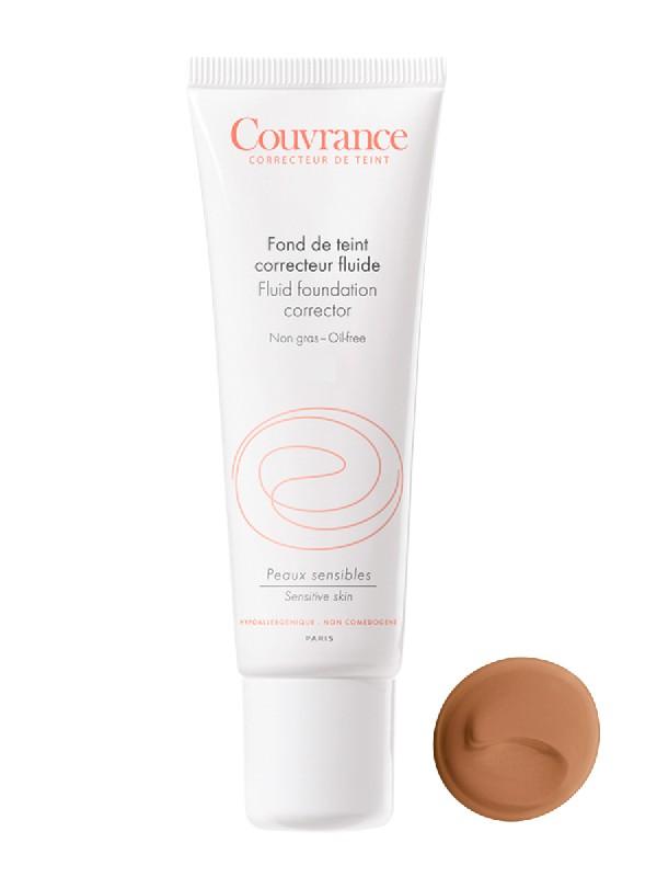 Avène couvrance .maquillaje fluido nº 5 tono bronceado , 30ml.
