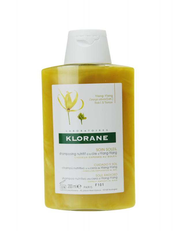 Klorane champu ylang ylang cuidado para el sol 200ml