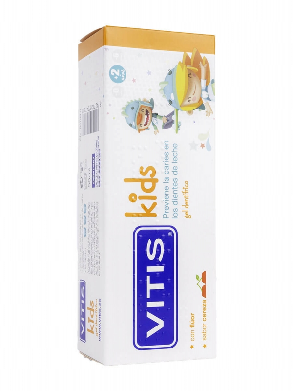 Vitis kids gel dentrífico 50 ml