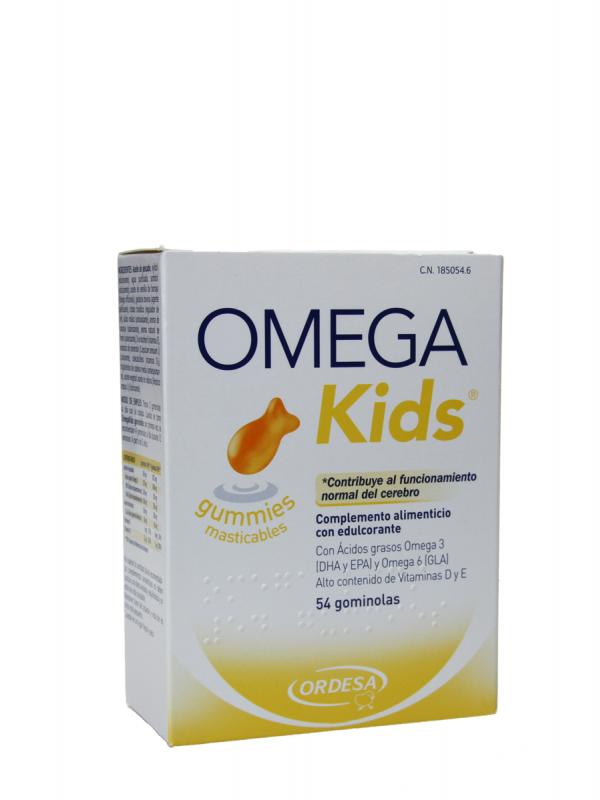 Omega kids gummies 54 unidades