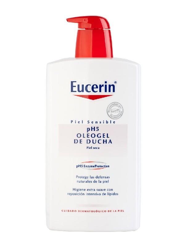 Oleogel de ducha eucerin piel sensible ph-5 1000