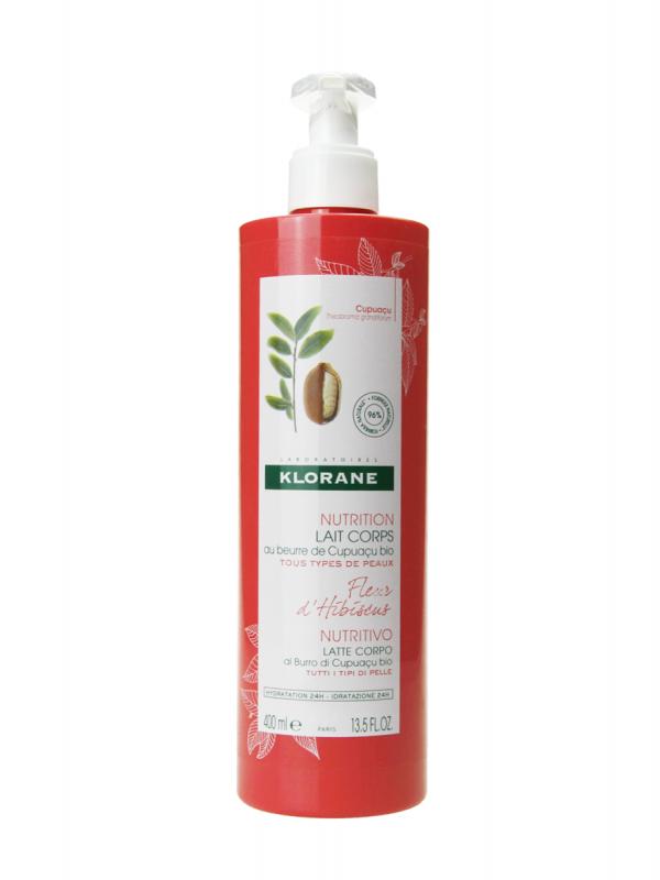 Klorane leche corporal nutritiva flor de hibisco 400 ml