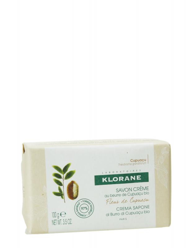 Klorane pastilla jabón crema agua flor de cupuacu 100 gr