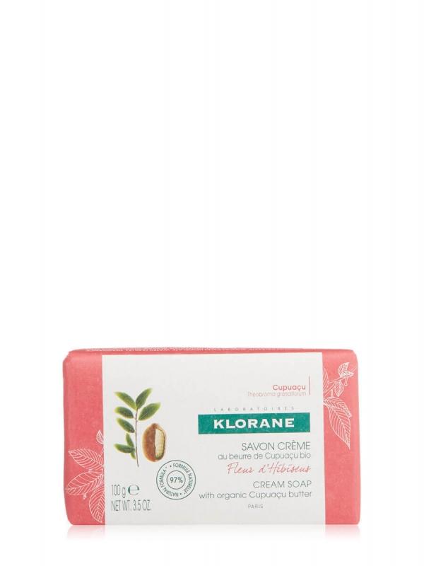 Klorane pastilla jabón flor de hibiscus 100gr