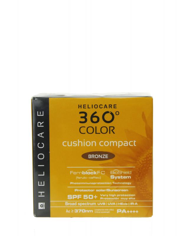 Heliocare 360º cushion compacto bronze spf 50+ 15 gr