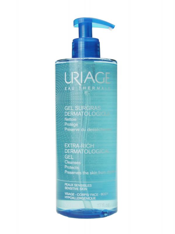 Uriage gel de limpieza dermatológico 500 ml