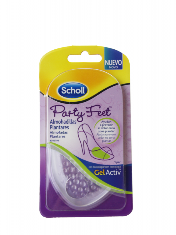 Dr scholl party feet almohadilla plantar