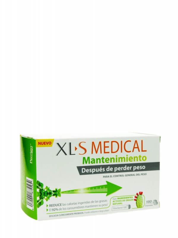Xl-s medical mantenimiento 180 comprimidos