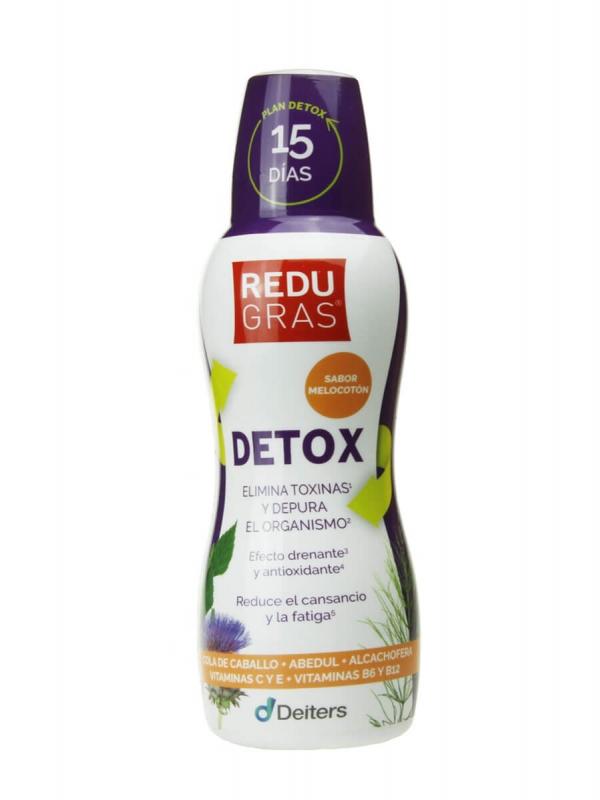 Redugras detox sabor melocotón 450 ml