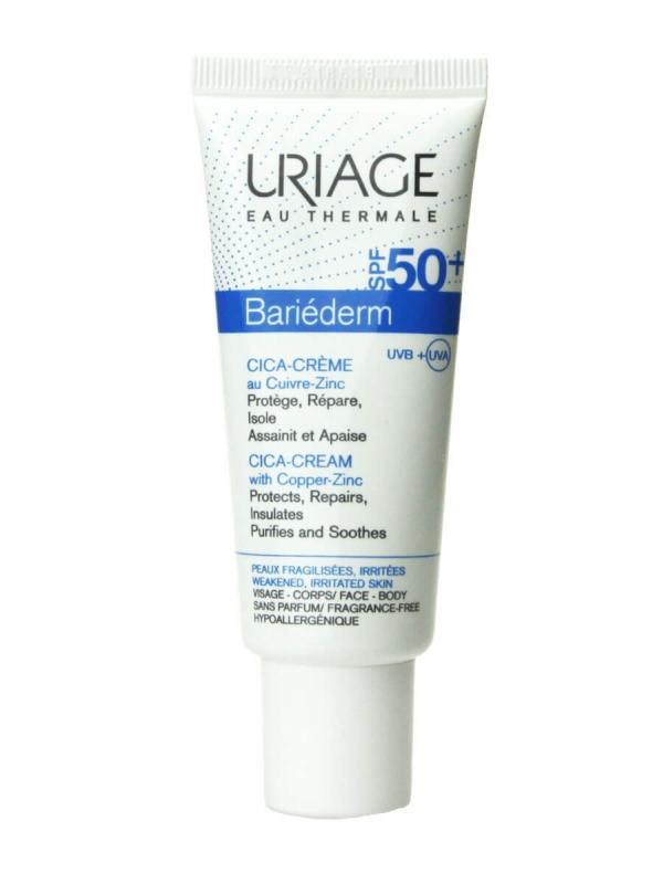 Uriage bariederm cica crema spf50+ 40ml