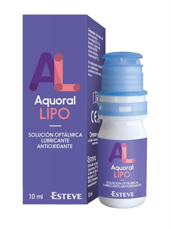 Aquoral lipo gotas oftálmicas 10 ml