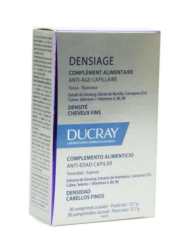 Ducray densiage 30 comprimidos