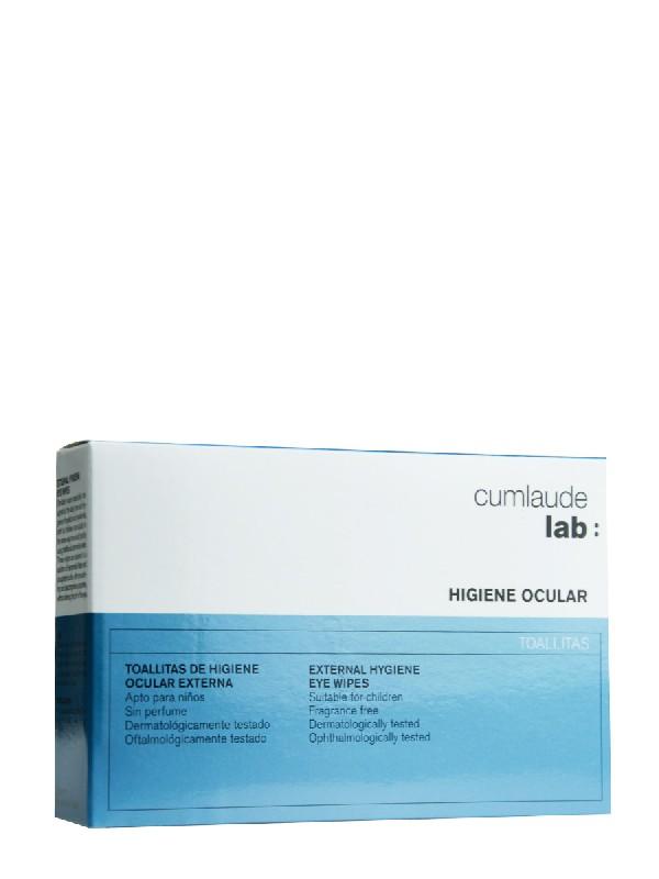 Cumlaude toallitas de higiene ocular 16 unidades