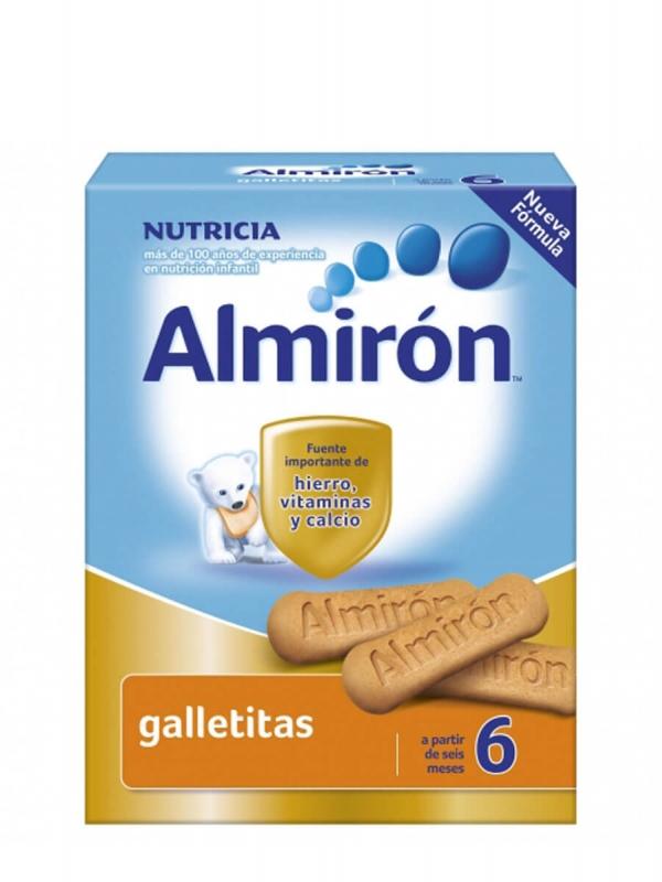 Almirón advance 6 cereales galletitas 180gr