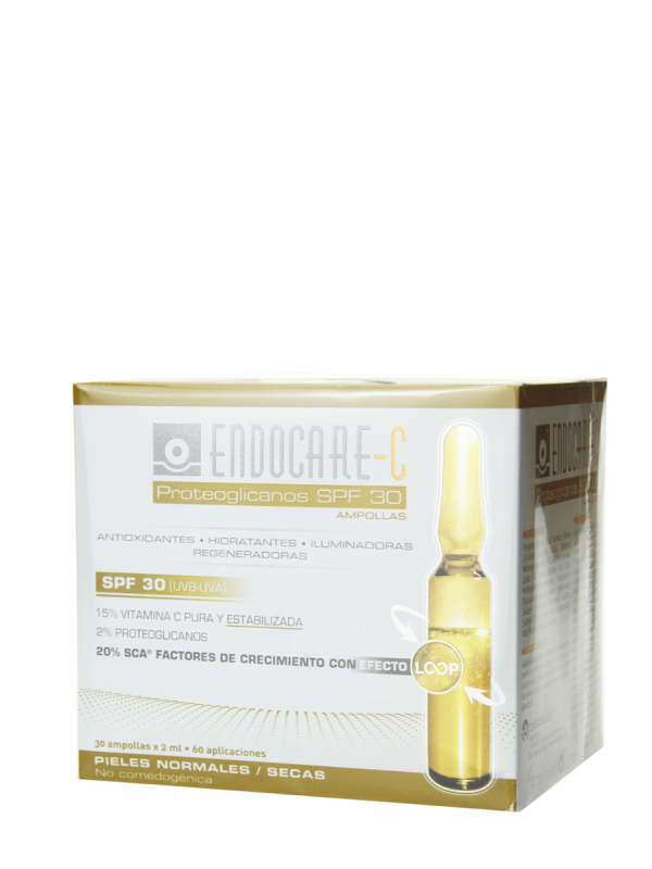 Endocare c proteoglicanos spf 30 30 ampollas
