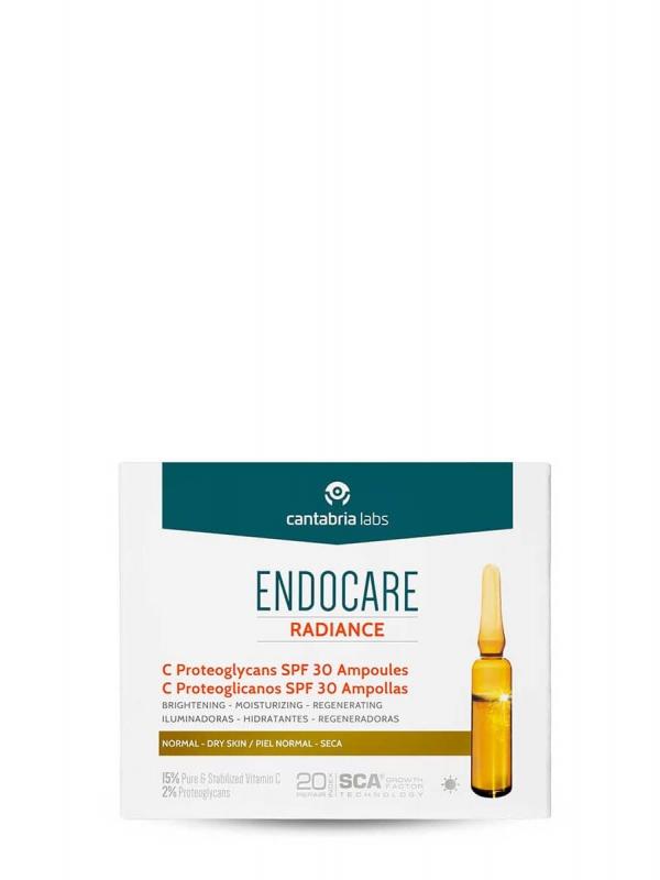Endocare radiance c proteoglicanos spf 30 30 ampollas