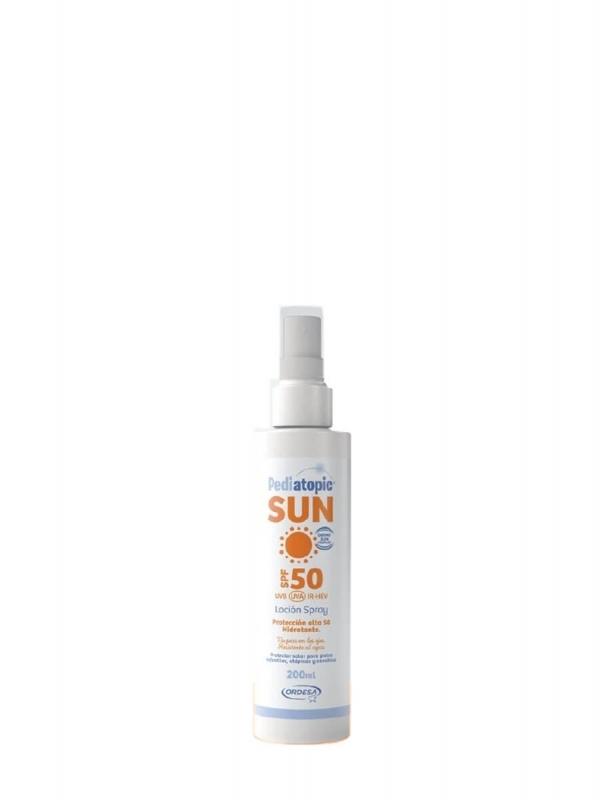 Pediatopic sun locion spray spf 50 200 ml