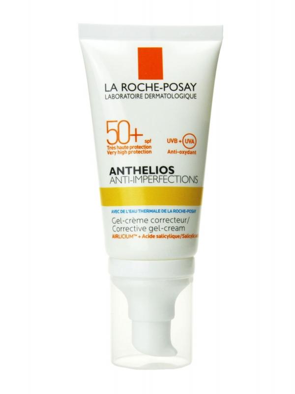 La roche posay anthelios anti-imperfecciones gel-crema spf 50+ 50 ml