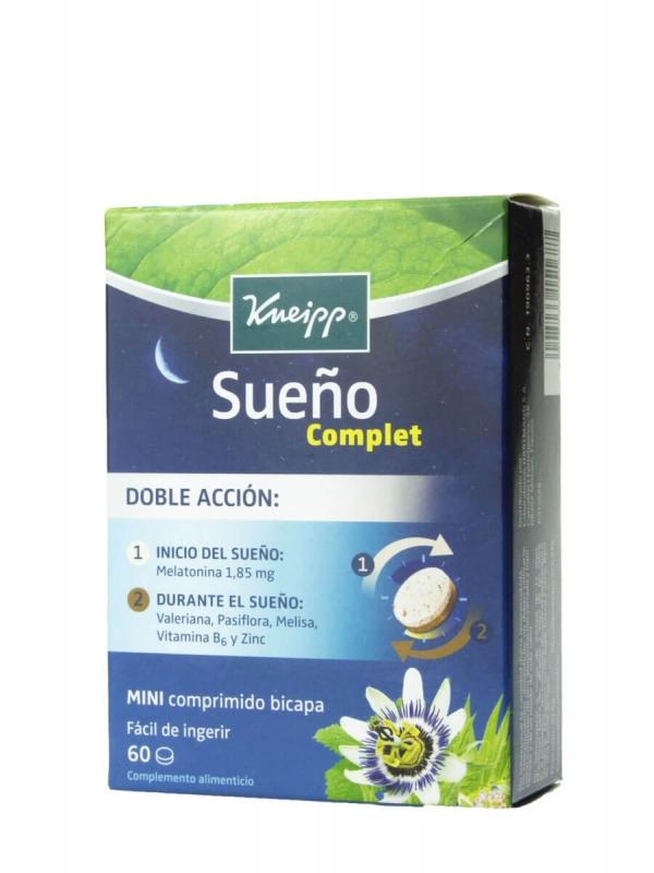 Kneipp sueño complet 60 comprimidos