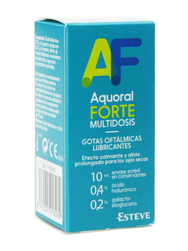 Aquoral forte multidosis 10ml