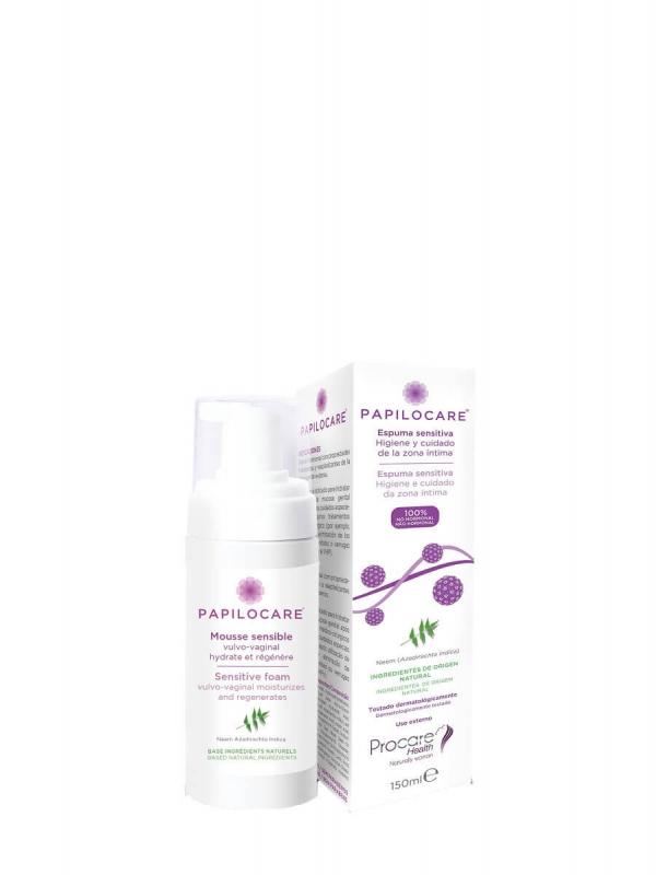 Papilocare espuma sensitiva 150 ml