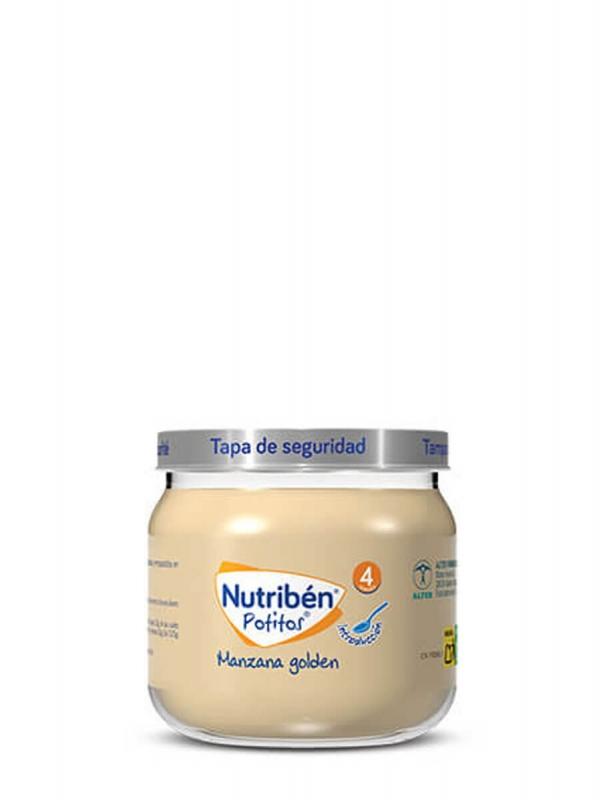 Nutriben potito introducción a la manzana golden 130 gr