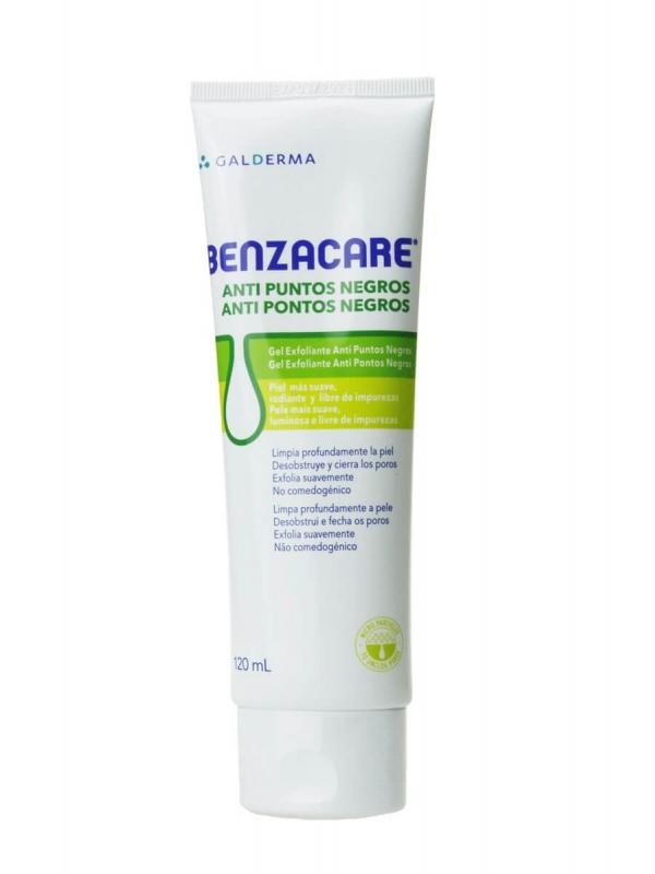 Benzacare gel anti puntos negros 120 ml