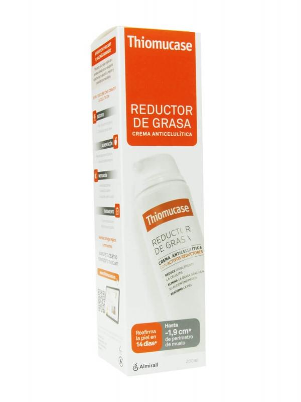 Thiomucase reductor de grasa crema anticelulítica 200 ml