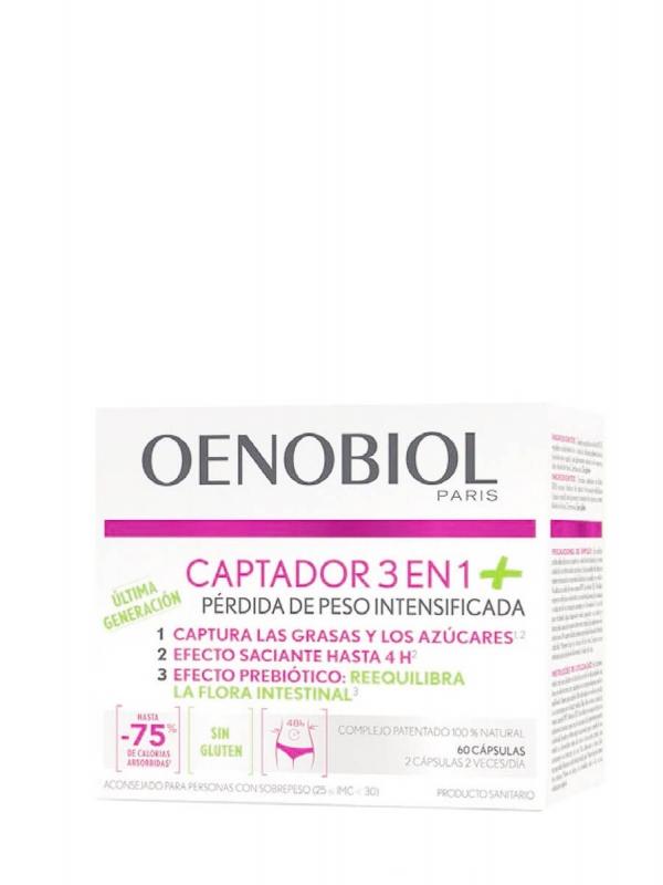 Oenobiol captador 3 en 1 plus 60 cápsulas