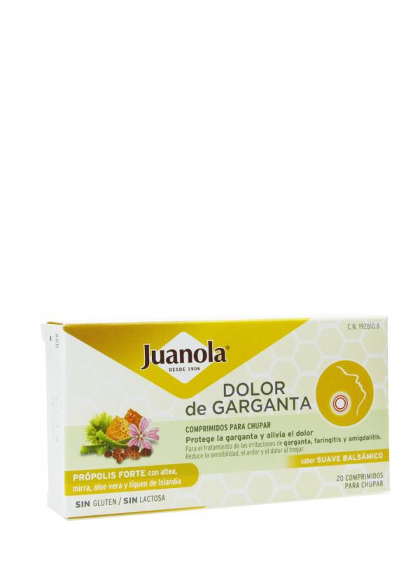 Juanola própolis forte sabor suave 20 comprimidos para chupar