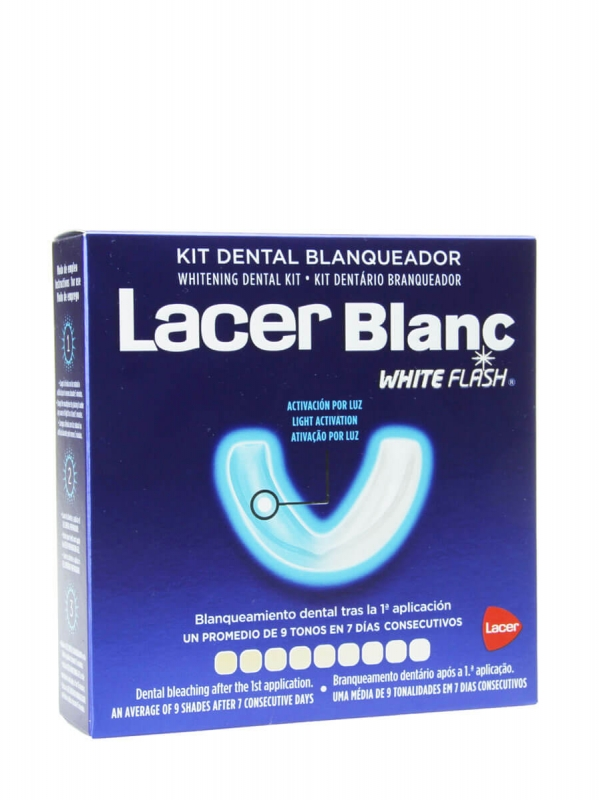 Lacer kit dental blanqueador