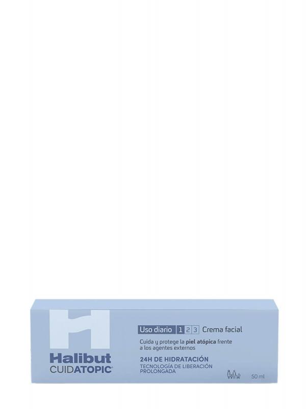 Halibut cuidatopic crema facial 50 ml