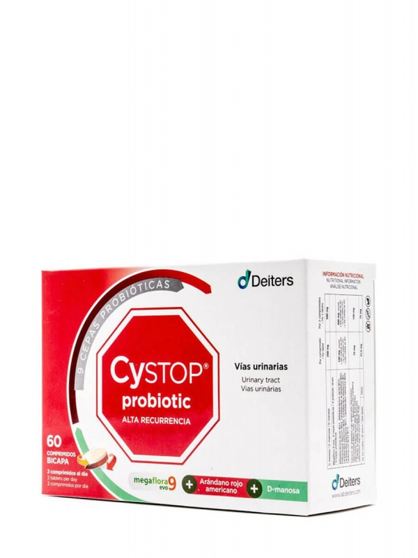 Deiters cystop probiotic 60 comprimidos