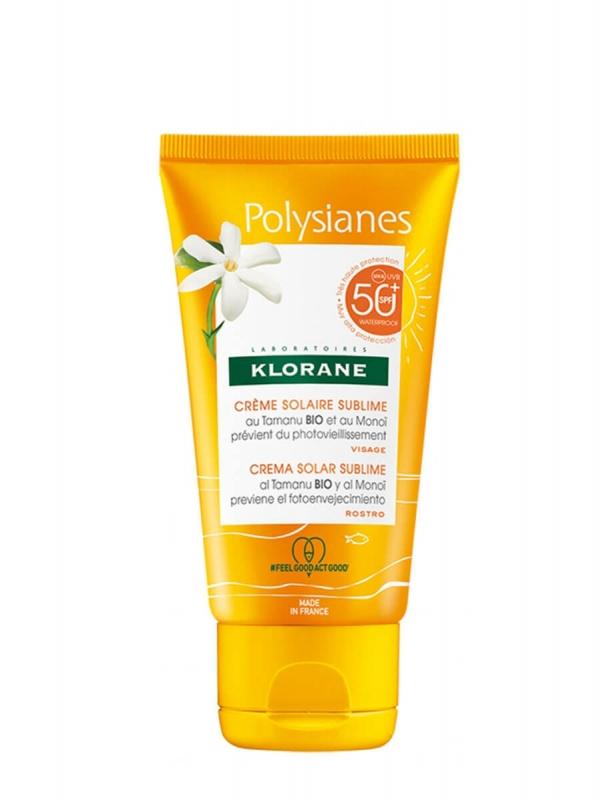Klorane crema solar sublime spf50+ 50ml