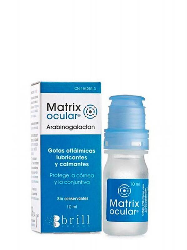 Matrix gotas oftálmicas calmantes 10ml